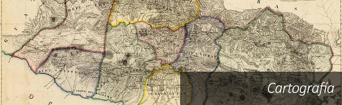 Cartografía en El Salvador