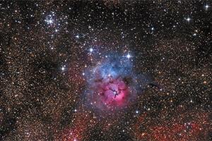 31 Nebula Trífida