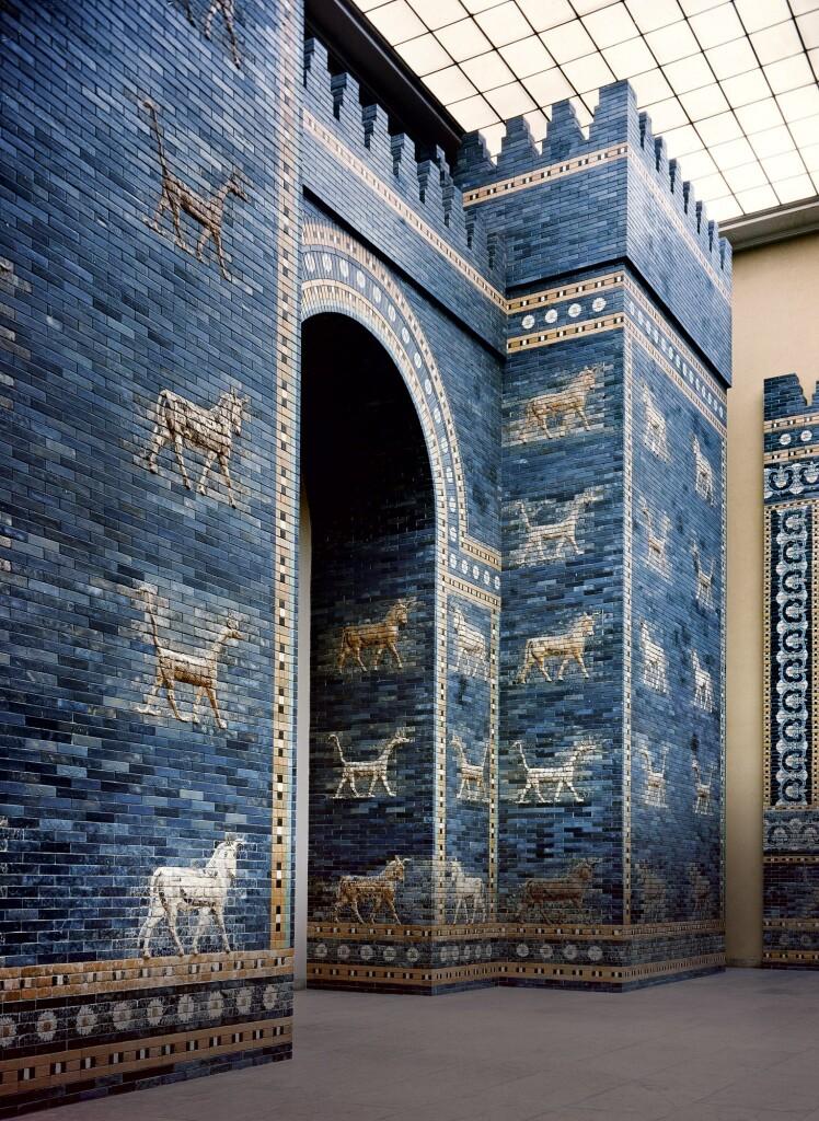 puerta de Ishtar- Babilonia