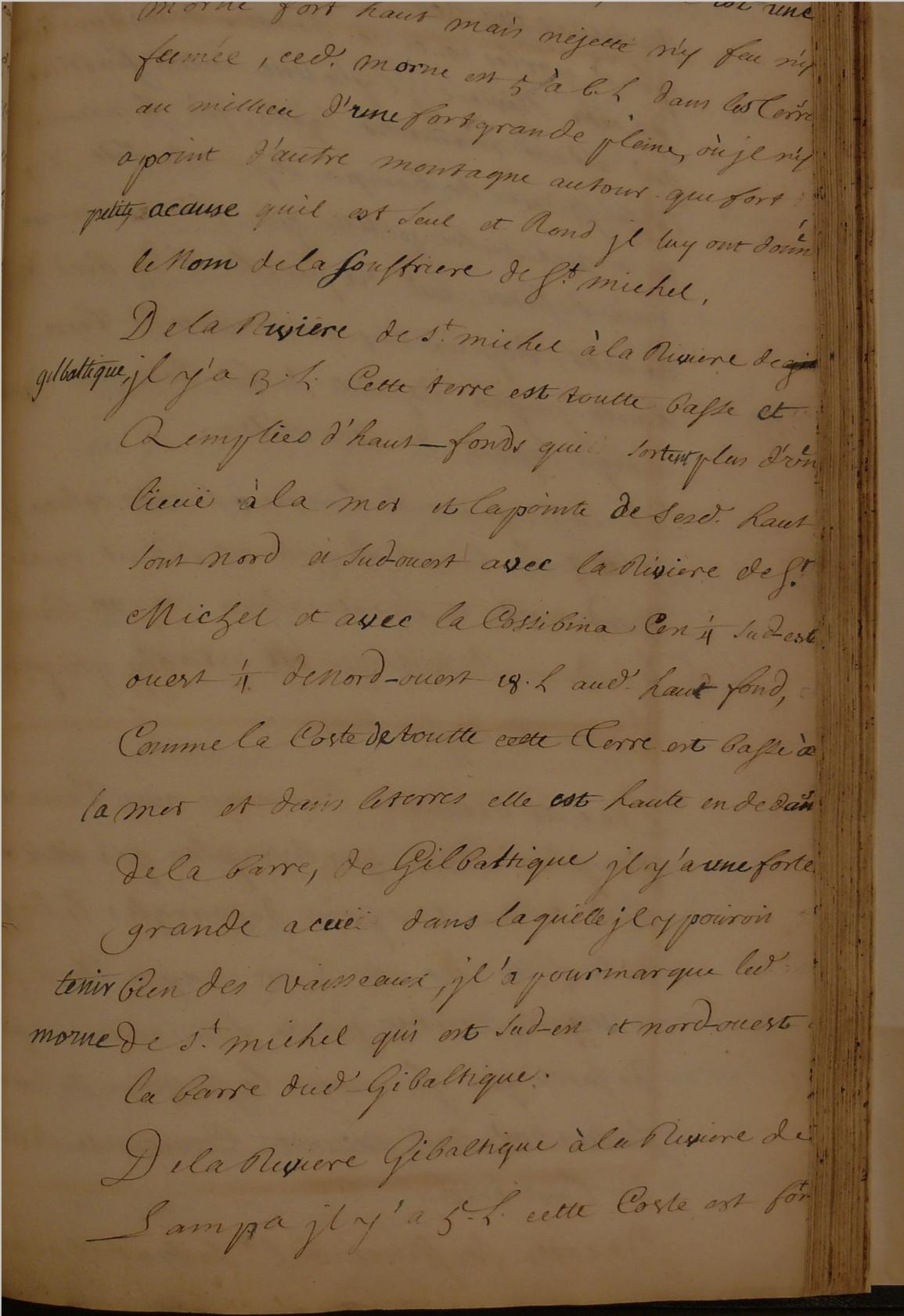 Manuscrito del Atlas Piratas Franceses