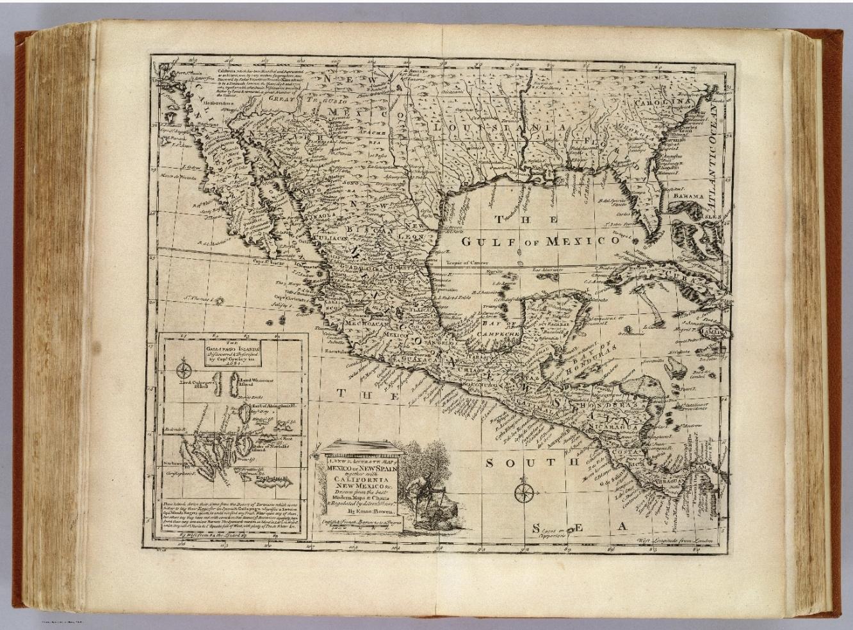 Mapa Bowen XVIII